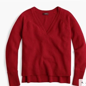 ⭐️ J. Crew V-Neck Sweater XS NWT!